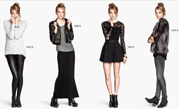 H&M Outono Inverno 2013/2014