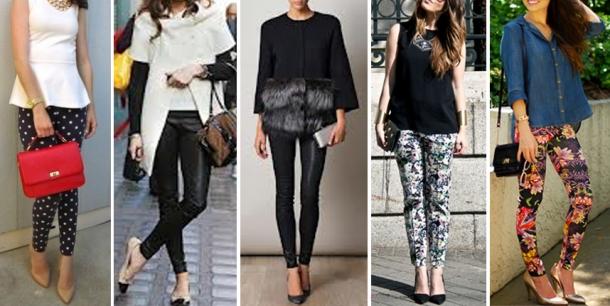 O que Vestir ou Não com Leggings