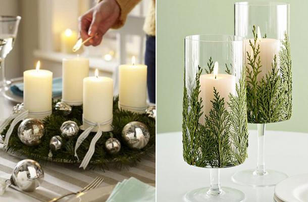 6 Ideias para Decorar a Mesa de Natal