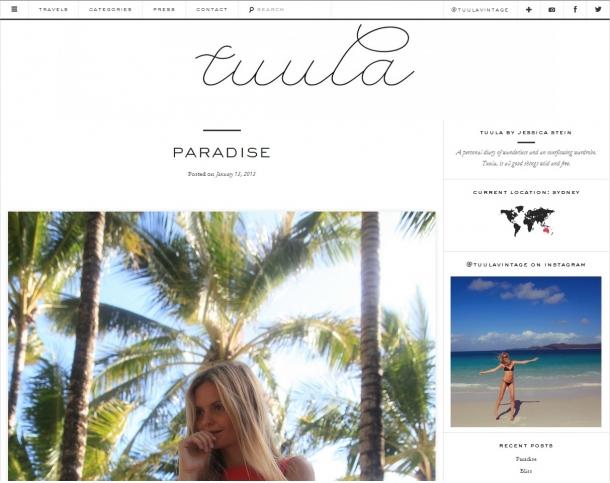 Blogs de Moda Internacionais - Tuula Vintage
