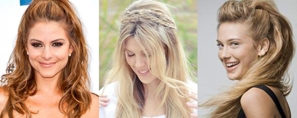 cabelos de verão - semi apanhado