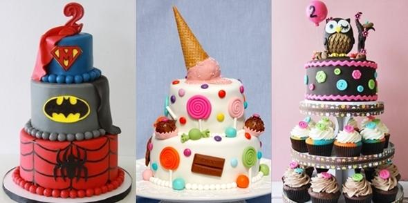 Como Organizar uma Festa de Anos Infantil - bolo