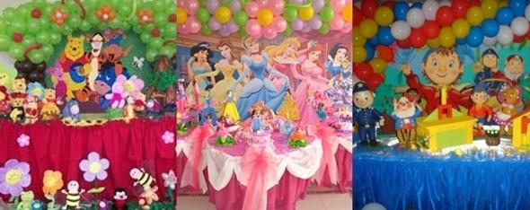 Como Organizar uma Festa de Anos Infantil - tema
