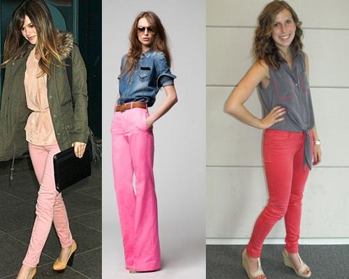 Como Usar Jeans Coloridos (2)