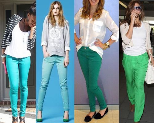 Como Usar Jeans Coloridos (3)