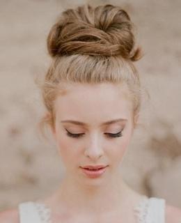 Penteados de Noiva - Coque