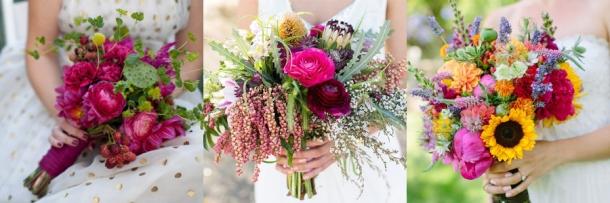 Ramos de Noiva com Flores Campestres (1)