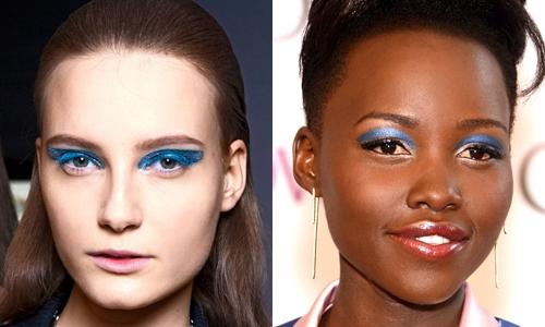 Tendência de Maquilhagem de Olhos: Azul (1)