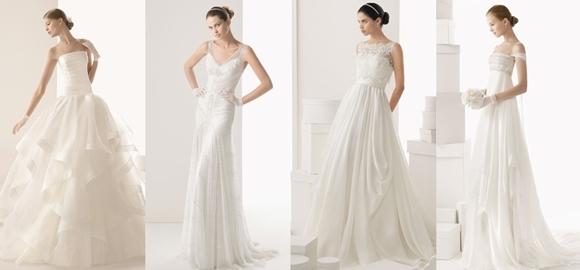 Tendências de Vestidos de Noiva 2014 - tendências