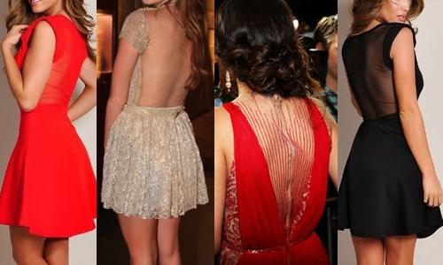 Vestidos com Decote em Tule (4)