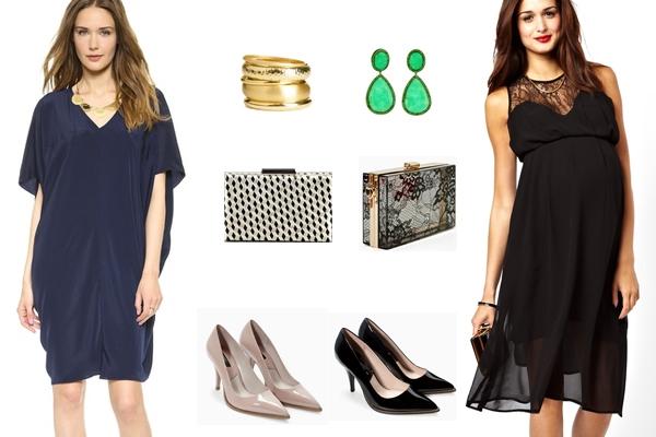 Vestidos de Festa para Grávidas: 5 Looks que Vai Adorar (3)