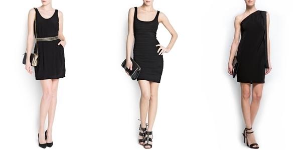 Vestidos Pretos - simples